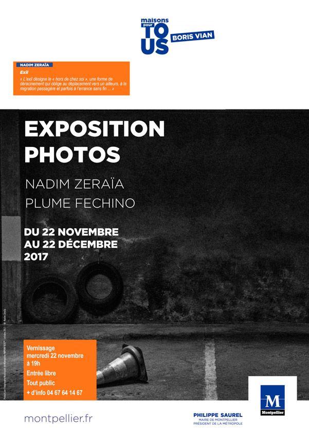 Photographie Nadim Zeraïa BORIS VIAN Exposition photo Montpellier